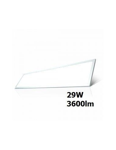 29W Panou LED 1200x300mm A++ 120Lm/W 6400K incl Sursa 6 bucati/SET