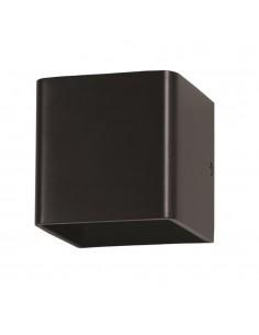 LedOne 5W Lampa Perete cu Bridglux Chip Corp Negru Patrat 3000K Megazin Online Pret Ieftin