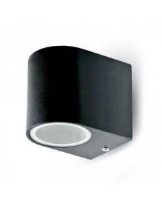 LedOne Lampa LED Perete Lisse Aluminiu Rotunda Negru 1Way IP44 Megazin Online Pret Ieftin