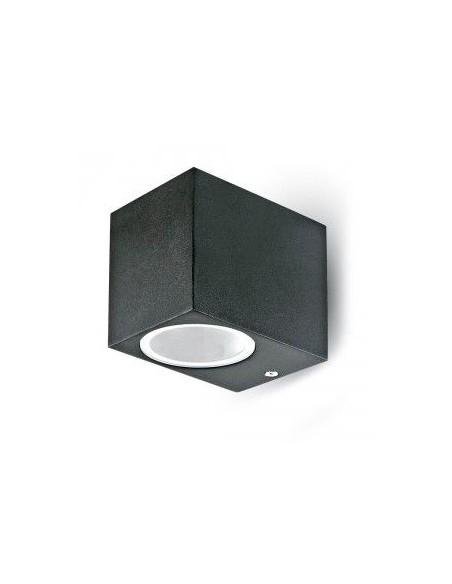 Lampa LED Perete Lisse Perete Aluminiu PatratNegru 1Way IP44