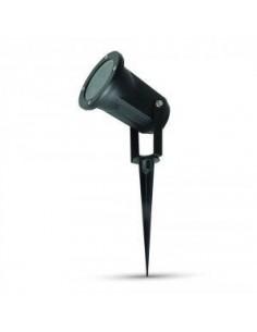 LedOne Lampa LED Gradina Spike Aluminiu Corp GU10 Negru IP65 Megazin Online Pret Ieftin