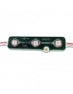 LedOne LED Modul Mobila 3SMD Chips SMD5050 Verde IP67  Megazin Online Pret Ieftin