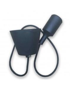 LedOne E27 Lampa Plafoniera Racord Corp Negru Megazin Online Pret Ieftin