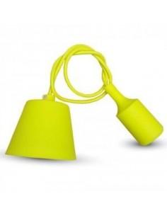 LedOne E27 Lampa Plafoniera Racord Galben Megazin Online Pret Ieftin
