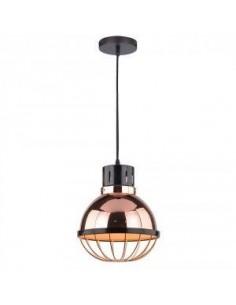 LedOne Lampa LED Plafoniera Lumina Racord  ф250 - Rose Auriu   Megazin Online Pret Ieftin
