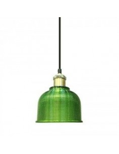 LedOne Lampa Plafoniera Sticla  LuminaVerde ф145  Megazin Online Pret Ieftin