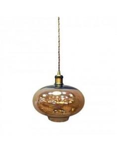 LedOne Lampa LED Plafoniera Lumina Amber Sticla Megazin Online Pret Ieftin