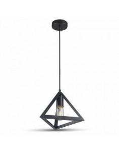LedOne Lampa LED Plafoniera Geometric Triunghi Negru Megazin Online Pret Ieftin