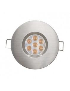 LedOne 6.5W Spot LED Lumina Directionala SMD, 4200K, IP44, NICHEL SATINAT Megazin Online Pret Ieftin