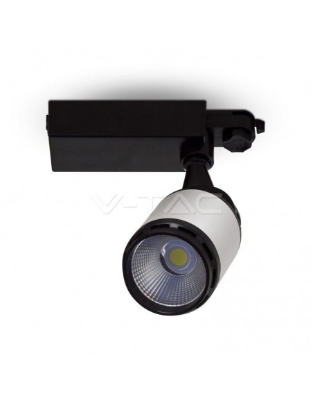 25W Proiector LED Sina Alb Negru