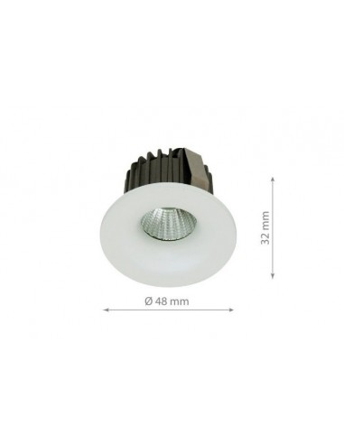 3W Spot LED Incastrat Alb Natural 4500K