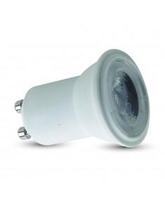 LedOne VT-2002 2W GU10 SPOT LED PLASTIC Alb Cald 3000K MR11 Cod V-TAC7167 Megazin Online Pret Ieftin