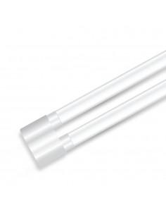 LedOne VT-12077 36W LAMPA LED TUBURI NANO PLASTIC 2X-120CM ALB NATURAL 4000K Cod V-TAC6315 Megazin Online Pret Ieftin