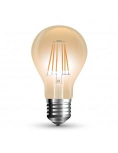 VT-2028 10W A67 BEC LED FILAMENT AMBER COVER ALB CALD 2200K E27 Cod V-TAC7157
