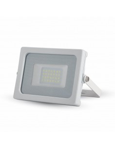 LedOne VT-4922 20W PROIECTOR LED SLIM SMDAlb Neutru 4500K CORP ALB Cod V-TAC5790 Megazin Online Pret Ieftin