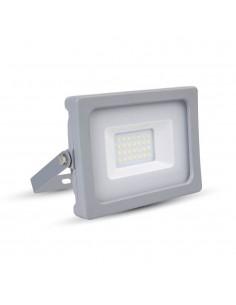 LedOne VT-4922 20W PROIECTOR LED SLIM SMD Alb Neutru 4500K Corp Gri MAT Cod V-TAC5799 Megazin Online Pret Ieftin