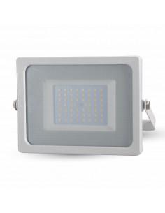 LedOne VT-4955 50W PROIECTOR LED SLIM SMD Alb Rece 6000K CORP ALB Cod V-TAC5827 Megazin Online Pret Ieftin