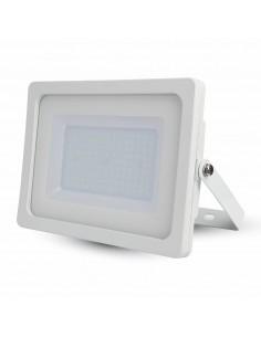 LedOne VT-49100 100W PROIECTOR LED SLIM SMD Alb Rece 6000K CORP ALB Cod V-TAC5845 Megazin Online Pret Ieftin