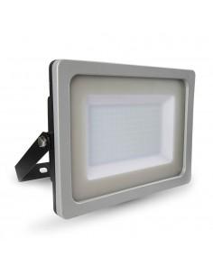 LedOne VT-49150 150W PROIECTOR LED SLIM SMD Alb Cald 3000K Corp Negru/Gri Cod V-TAC5858 Megazin Online Pret Ieftin