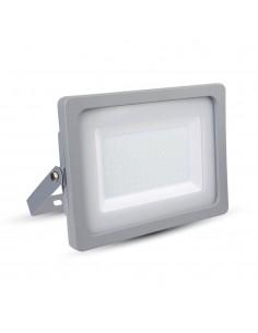 LedOne VT-49150 150W PROIECTOR LED SLIM SMD Alb Cald 3000K Corp Gri Cod V-TAC5864 Megazin Online Pret Ieftin