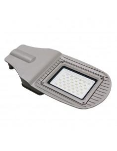 LedOne VT-15030ST 30W LAMPA PROIECTOR ILUMINAT STRADAL LED ALB CRISTAL 6400K Corp Gri Cod V-TAC5488 Megazin Online Pret Ieftin