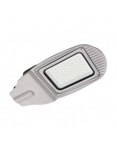 LedOne VT-15051ST 50W LAMPA PROIECTOR ILUMINAT STRADAL LED ALB CRISTAL 6400K Corp Gri Cod V-TAC5492 Megazin Online Pret Ieftin