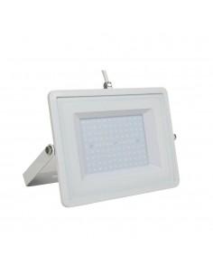 LedOne VT-49101 100W PROIECTOR LED SMD SLIM ALB CRISTAL 6400K CORP ALB Cod V-TAC5972 Megazin Online Pret Ieftin