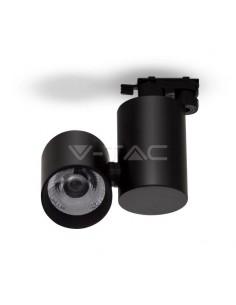 LedOne VT-4615 15W PROIECTOR LED SINA Alb Natural 4000K-Corp Negru  5 ANI GARANTIE Cod V-TAC1302 Megazin Online Pret Ieftin