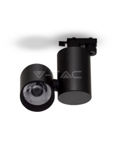 LedOne VT-4635 30W PROIECTOR LED SINA Alb Cald 3000K-Corp Negru- 5 ANI GARANTIE Cod V-TAC1295 Megazin Online Pret Ieftin