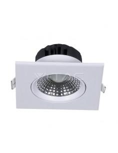 VT-1100 5W SPOT LED Alb Cald 3000K PATRAT Cod V-TAC7332