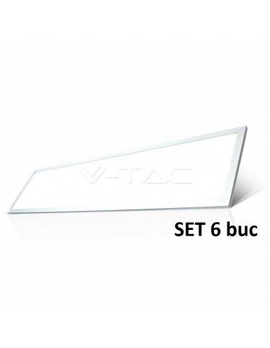 VT-12032 45W PANOU LED-1200*300 Alb Natural 4000K-UGR 6PC/PACK Cod V-TAC6329