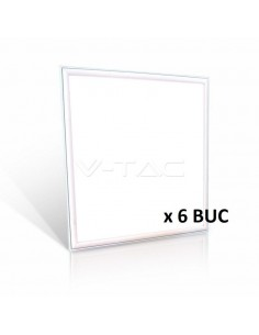 LedOne VT-6137 36W PANOU LED-62x62CM Alb Natural 4000K HIGH LUMEN 6PCS/PACK Cod V-TAC62436 Megazin Online Pret Ieftin