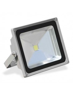 LedOne Proiector LED - 50W, rezistent la apa, IP65, lumina rece Megazin Online Pret Ieftin