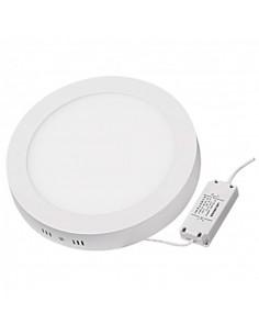 LedOne Panou LED cu montaj la suprafata, rotund, 18W, SMD2835, lumina calda Megazin Online Pret Ieftin