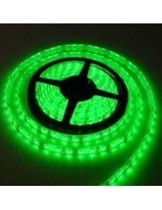 LedOne Banda LED flexibila, SMD3528, 12V DC, 4.8W/M, 60LED-uri/M, verde, 5m, nerezistenta la apa Megazin Online Pret Ieftin