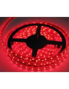 LedOne Banda LED flexibila, SMD3528, 12V DC, 4.8W/M, 60LED-uri/M, rosu, 5m, nerezistenta la apa Megazin Online Pret Ieftin
