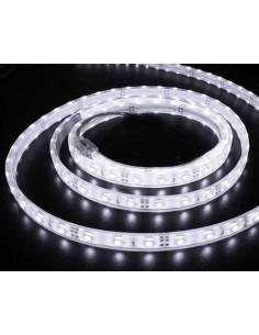 LedOne Banda LED flexibila, SMD3528, 12V DC, 4.8W/M, 60LED-uri/M, alb rece, 5m, rezistenta la apa Megazin Online Pret Ieftin
