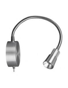 LedOne Lampa LED de perete 3W, 4500K, argintie Megazin Online Pret Ieftin