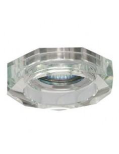 LedOne Rama spot incorporabil, fix, cristal alb, MR16, non rezistent la apa Megazin Online Pret Ieftin
