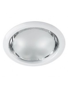 LedOne Rama pentru spot incastrat, fix, alb, E27, nerezistent la apa Megazin Online Pret Ieftin