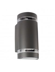 LedOne Dispozitiv de iluminare exterior, 2XGU10, IP44, gri Megazin Online Pret Ieftin
