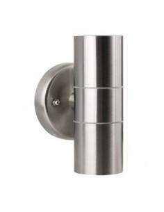 LedOne Dispozitiv de iluminat exterior, 2XGU10, IP44, argintiu Megazin Online Pret Ieftin