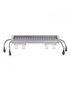 LedOne Proiector liniar RGB DMX512 Wall Washer 24V 60 grade 24W 1M IP65 Megazin Online Pret Ieftin