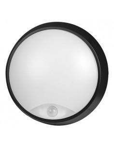 LedOne Lampa LED de tavan 14W, alba, cu senzor PIR, rezistenta la apa IP54, 4200K, lumina neutra Megazin Online Pret Ieftin
