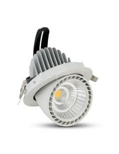 LedOne 33W LED Zoom Racord Spot Rotund 4500K Megazin Online Pret Ieftin