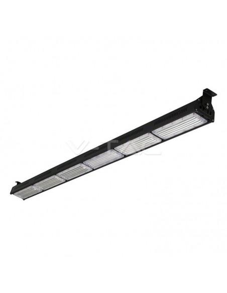 300W Corp iluminat LED Industrial Liniar HighBay Neagra 6000K