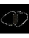 45W Proiector LED Sina Negru - 3 culori - Unghi Ajustabil - Dimabil