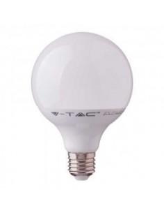 LedOne 17W Bec LED - SAMSUNG CHIP E27 G120 Plastic 4000K Megazin Online Pret Ieftin