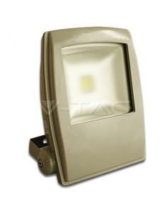 LedOne 10W Proiector LED V-TAC Design Alb Rece Megazin Online Pret Ieftin