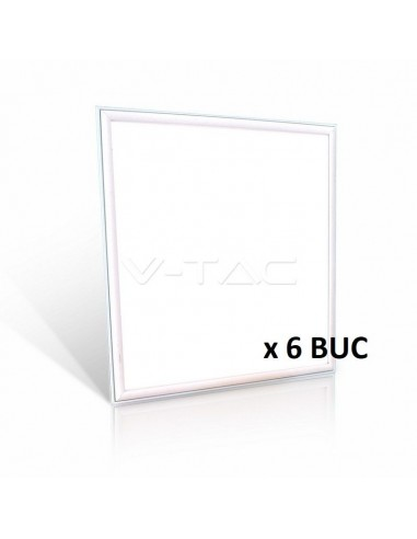 VT-6165 45W LED PANEL 600x600mm ALB NATURAL 4000K 5 ANI GARANTIE -6BUC Cod V-TAC6420